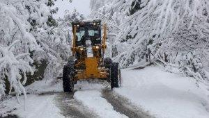 Giresun'da 94 köy yolu ulaşıma açıldı