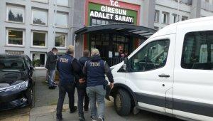 Giresun'da FETÖ soruşturmasında 1 tutuklama