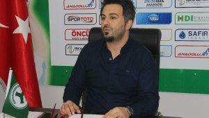Giresunspor'da devre arası transfer yapılmayacak