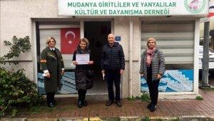 Giritya'dan fidan bağışı - Bursa Haberleri