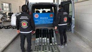 Gümrük Muhafaza ekiplerince Habur'da 29 bin paket kaçak sigara ve yüzlerce cep telefonu ele geçirildi