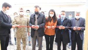 Hamur Özdirek İlkokulu anasınıfı ve öğretmenler odası açılışı yapıldı