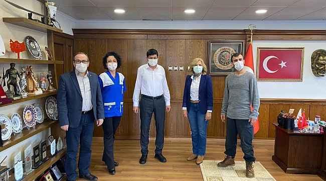 HAYTAP İl Temsilcisi Tekinbaş'tan Başkan Özcan'a teşekkür