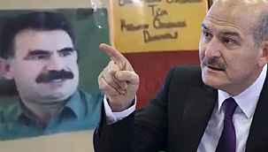 HDP binasındaki Öcalan posterleri ifşa olunca Soylu AİHM kararını hatırlattı