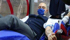 Hâkim ve savcılardan adliyede kan bağışı