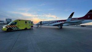 Hollanda fişini çekecekti, Türkiye ölüme terk edilen vatandaşını ambulans uçakla aldı