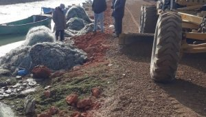 Hüyük'ün sahil yolları yeniden düzenleniyor