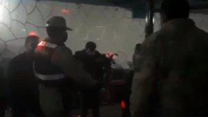 İçkili eğlenceye jandarma baskını, 21 kişiye 93 bin 700 TL ceza kesildi