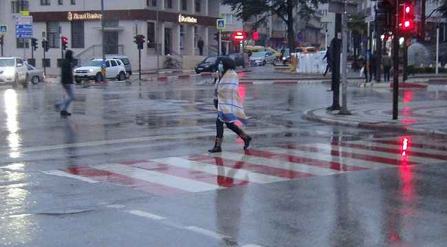 İnegöl'de kar yağışı kısa sürdü - Bursa Haberleri