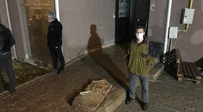 İnşaat çalışmasını izleyen vatandaşın dikkatiyle tarihi mezar steli bulundu - Bursa Haberleri