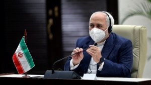 """İran Dışişleri Bakanı Zarif: """"Azerbaycan'ın Karabağ'ı almasından mutluyuz"""""""