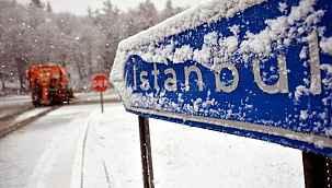 İstanbul'a beklenen kar için Valilik cuma gününü işaret etti