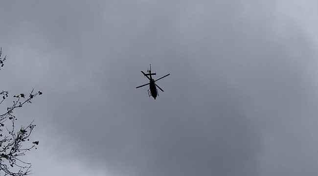 İstanbul genelinde helikopter destekli asayiş uygulaması