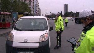 İstanbul'da kısıtlama denetimleri sürüyor