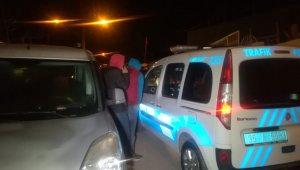 İzmir'de 'dur' ihtarına uymayan 3 kişiye 11 bin lira ceza
