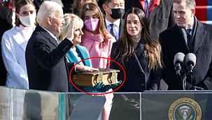 Joe Biden'ın el bastığı İncil, 1973'ten beri bütün yemin törenlerinde kullanmış