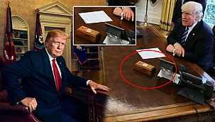 Joe Biden, Trump'ın kırmızı düğmesini Oval Ofis'ten kaldırttı