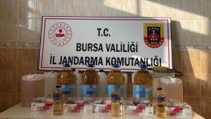 Kaçak içki imalathanesine baskın, çok sayıda kaçak içki ele geçirildi - Bursa Haberleri