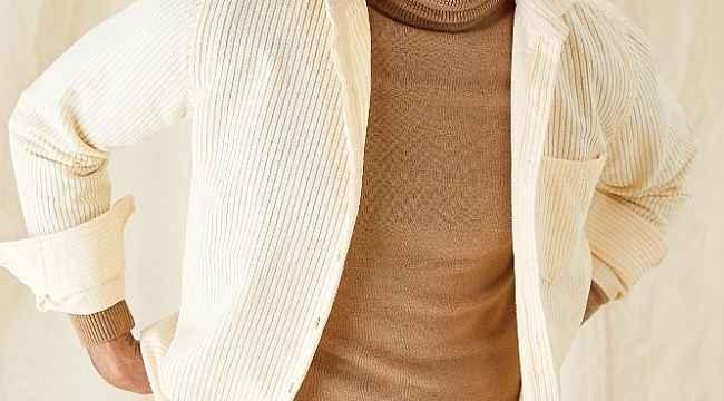 Kadife gömlekler modaseverlerin beğenisine sunuldu