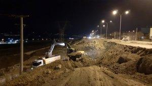 Kahramanmaraş'ta bulvar yenileme çalışması