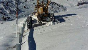 Kar nedeniyle kapanan 539 mahalle yolu ulaşıma açıldı