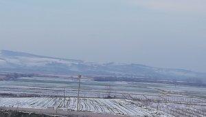 Kar yağışı ekili tarım arazilerini olumlu etkiledi