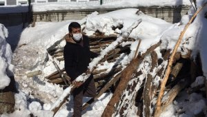 Karlıova'da kış, yaşam şartlarını olumsuz etkiliyor