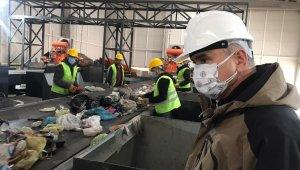 Katı atık enerji üretim tesisinde deneme üretimi yapıldı
