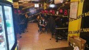 Kepengi indirip oyun partisi verenlere 17 bin lira ceza kesildi