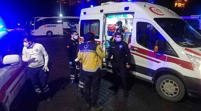 Kesici aletle güvenlik görevlisini yaralayan şahıs tutuklandı