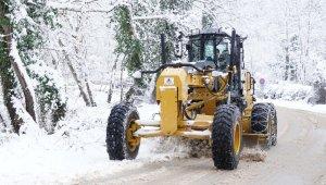 Kestel'de karla mücadele seferberliği - Bursa Haberleri