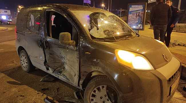Kırmızı ışık ihlali kazaya neden oldu - Bursa Haberleri