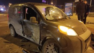 Kırmızı ışık ihlali kazaya neden oldu: 1 yaralı