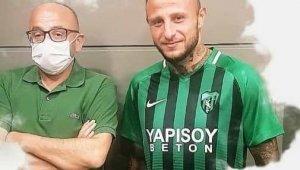 Kocaelispor'da Aydın Karabulut'un sözleşmesi feshedildi