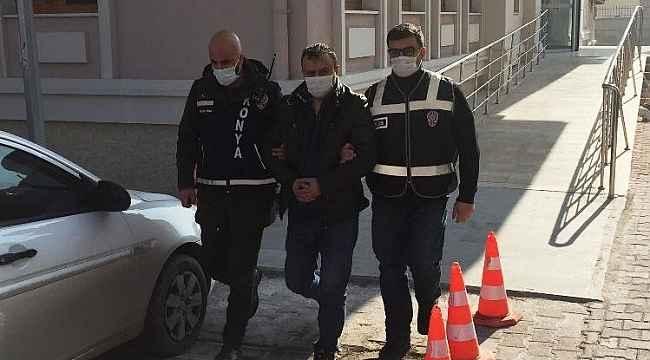Konya'daki çifte cinayetin zanlısı tutuklandı
