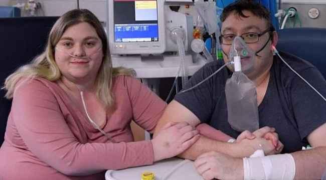 Koronavirüse yakalanan çift, yoğun bakımda evlendi