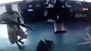 Korsan dehşeti güvenlik kameralarında