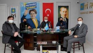 Kuşadası Belediye Başkan Vekili Limoncu, İYİ Parti yönetim kurulu toplantısını katıldı