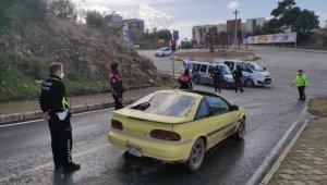 Kuşadası'ndaki polis-hırsız kovalamacası filmleri aratmadı