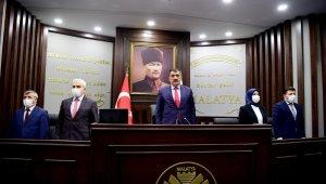 Malatya Büyükşehir Meclisi, 2021'in ilk toplantısını yaptı