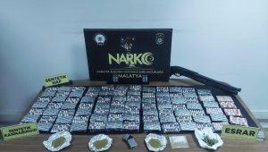 Malatya'da uyuşturucu operasyonu: 14 gözaltı