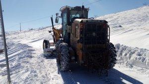 Malatya'daki yollar kardan temizlendi