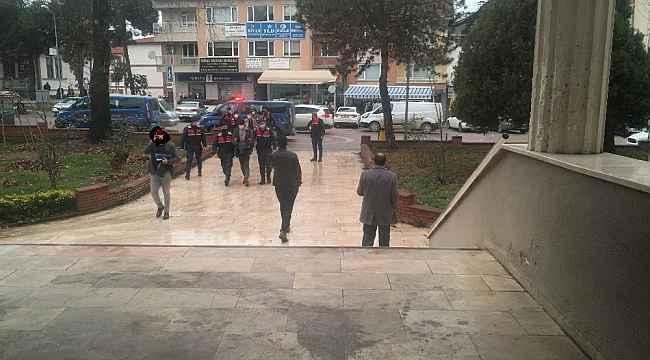 Mermer ocağından hırsızlık yapan 3 kişi tutuklandı