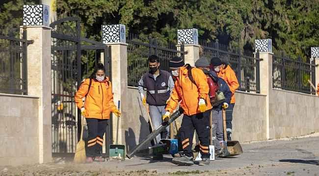 Mersin'de belediyeler ortak temizlik çalışması gerçekleştirdi