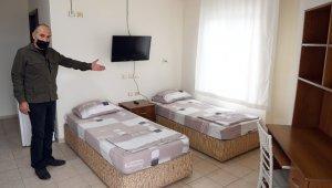 """Mersin'de hasta refakatçilerini sevindiren hizmet: """"Refakatçi evi"""""""
