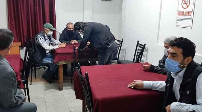 Mersin'de kumar oynayan 40 kişiye 126 bin lira ceza