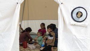 Mersin'deki mevsimlik tarım işçilerine yeni çadır