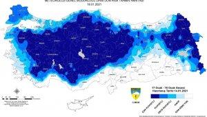 Meteorolojiden Bursa için ziraî don uyarısı -Bursa Haberleri