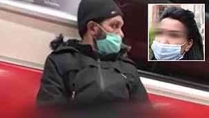 Metroda büyük skandal... Genç kadının önce saçını okşadı sonra cinsel tacizde bulundu