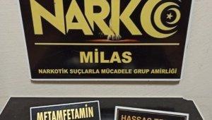 Milas'ta narkotik ekiplerinden şok uygulama